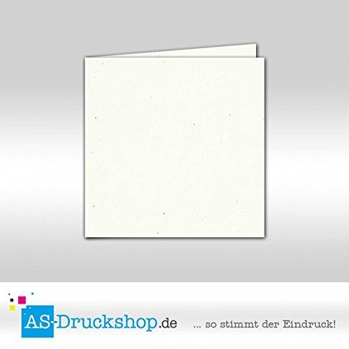 Faltkarte - Tortilla - Naturfarbe 50 Stück Quadratisch 155 x 155 mm B0794YM8KJ | Verwendet in der Haltbarkeit