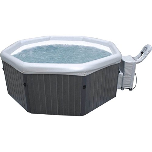 MSPA Bubble Spa (Tuscany- Metallic Ash) Super Size Hot Tub Spa Blower