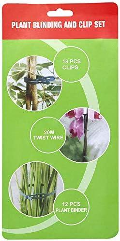 KINGLAKE 60 STK (2 Größen in Einer Packung) Pflanzen Clips Pflanzenklammern Ideal für Pflanzen Sicherung Unterstützt Einzupflanzen