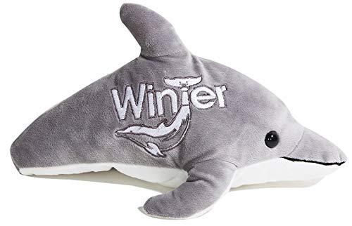 Winter No-tail Plush Grey