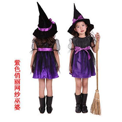 fixiyue Disfraz De Halloween Cosplay Traje De Niños Mago ...