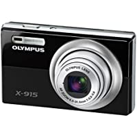 Olympus X-915 12.MP 5X Zoom Slim Digital Camera