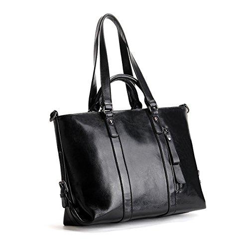 Noir Sac E à portés portés cuir fashion main LF Girl femme épaule Sac 6178 main Sac en aqBratw