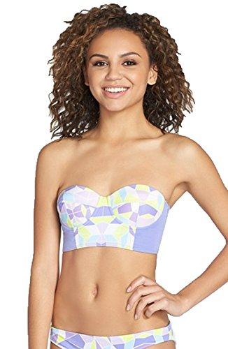 Zinke Women's Starboard Bustier Bikini Top, Medium, - Promotions Kaleidoscope