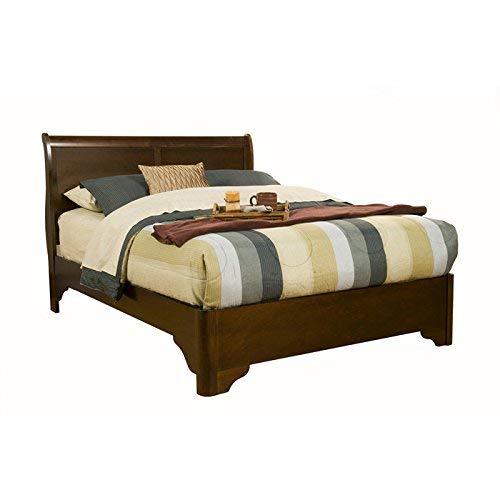 Alpine Furniture Chesapeake Sleigh Bed, California King Size ()