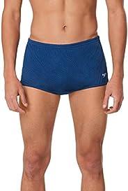 Speedo Men's Swimsuit Square Leg Poly Mesh Training