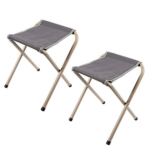 Camping,Outdoor Activities,Max Load 330lbs,Lightweight and Strong Bearing Capacity DIBALA Portable Folding Stool,Telescoping Stool Seat for Fishing,BBQ,Hiking Traveling