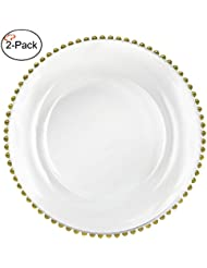 Amazon.com: Gold - Charger & Service Plates / Plates: Home & Kitchen