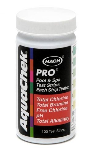 Chloramine Test Strips - AquaChek 511710 5-in-1 Chlorine Test Strips