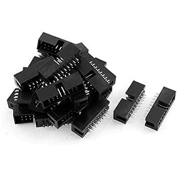 10PCS 2.54mm 2x8 Pin 16PIN Straight Box Header Shrouded header IDC Male Socket T