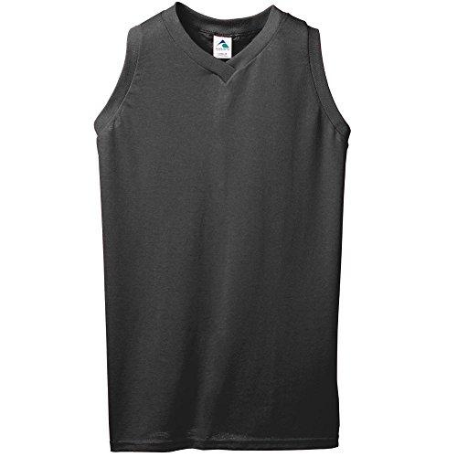 Augusta Sportswear Women's Sleeveless V-Neck Poly/Cotton Jersey XL ()