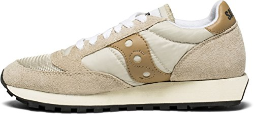 Vintage Cement Saucony tan Castle Jazz tea Zapatilla T08 UxqESYa