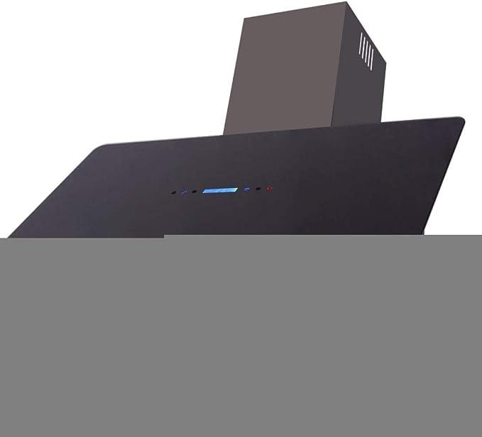 VidaXL 242722 Campana Extractora Modelo con Panel Táctil de Color Negro y Plateado 900mm 180W: Amazon.es: Hogar