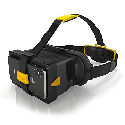 MOGO -Patented New Generation of Virtual Reality Headset for iPhone and Android - Try On Virtual App Glasses