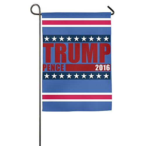 TRUMP PENCE FOR PRESIDENT Decorative Garden Flag And Yard Banner