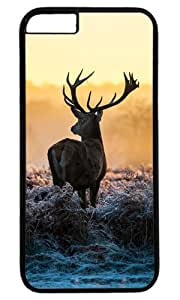 Deer Easter Thanksgiving Personlized Masterpiece Limited Design PC Black Case for iphone 6 by Cases & Mousepads