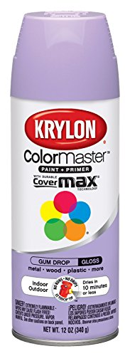Krylon 51513 Gum Drop Interior and Exterior Decorator Paint - 12 oz. Aerosol