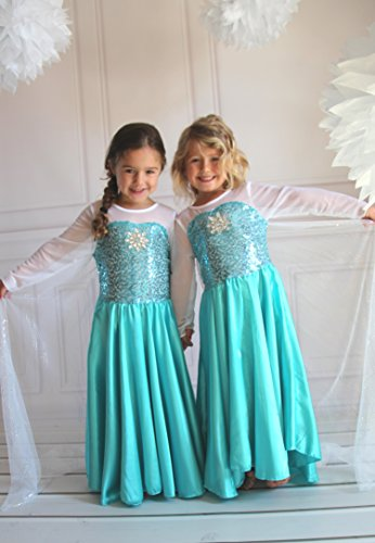 Butterfly Craze Girls Snow Queen Costume Snow Princess
