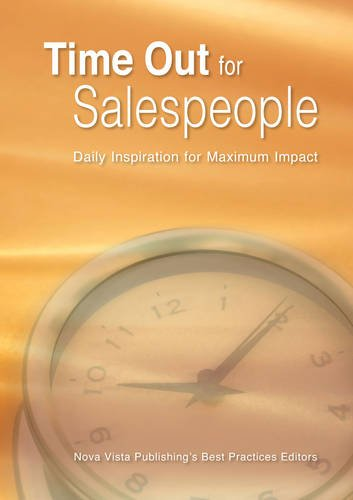 Read Online Time Out for Salespeople: Daily Inspirationfor Maximum Impact PDF