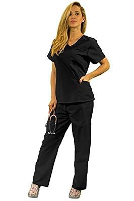 HyBrid & Company Women's Super Comfy Medical Scrubs set / Nursing Uniform