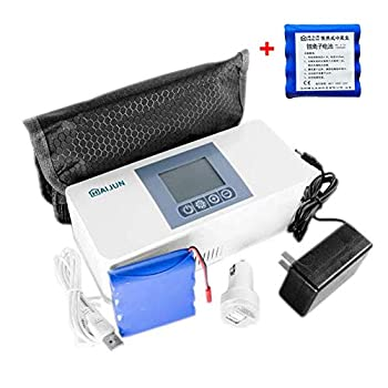Image of AIJUN Portable Insulin Cooler Case Keeping Mini Insulin Cooler Car Refrigerator Keeps Diabetes Medication Cool and Insulated (Built-in One Battery) (Two Batteries Include)