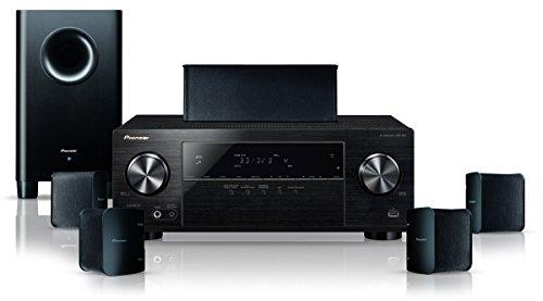 Pioneer HTP-206 5.1 Heimkinosystem mit integriertem Bluetooth (HDMI mit HDCP 2.2, 4K Ultra HD-Passthrough) schwarz
