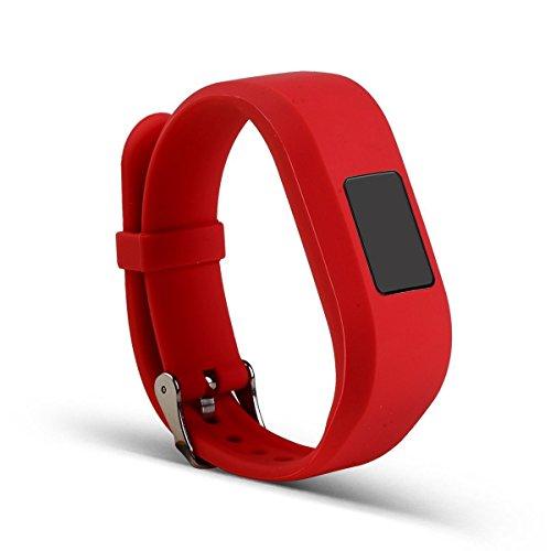 ECSEM Replacement Bands and Straps for Garmin vivofit JR & vivofit 3, [fits 6~8.5 inch wrists], - Junior Replacement