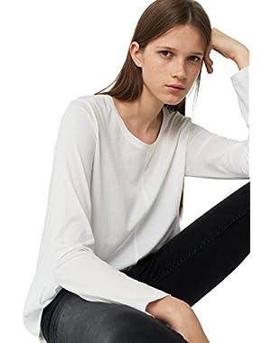 Mango Women's Cotton T-Shirt