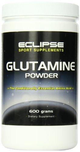 Eclipse Sport Supplements Glutamine Powder 600g, Bottle (Pack of 3)