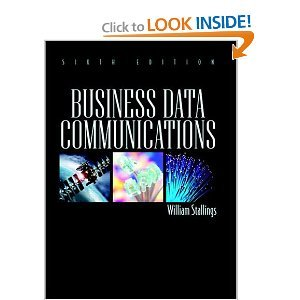 Business Data Communications 6th (Sixth) Edition BYStallings pdf epub