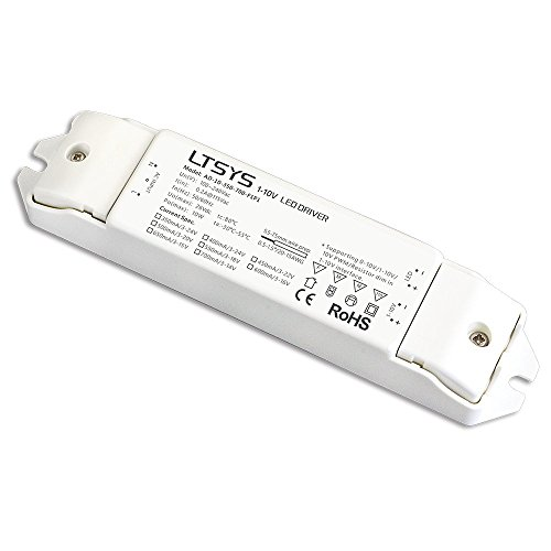 0-10V / 1-10V Intelligent Dimmable CC LED Driver Constant Current 10W 500mA Dimmer Driver ()