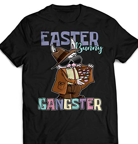 - Easter Bunny Gangster Jesus Lord Christian Customized Handmade T-Shirt Hoodie/Long Sleeve/Tank Top/Sweatshirt