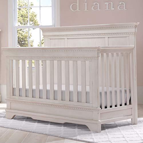 Simmons Kids Tivoli Convertible Crib N More, Antique Chestnut Antique White