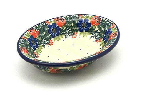 Polish Pottery Soap Dish - Garden Party
