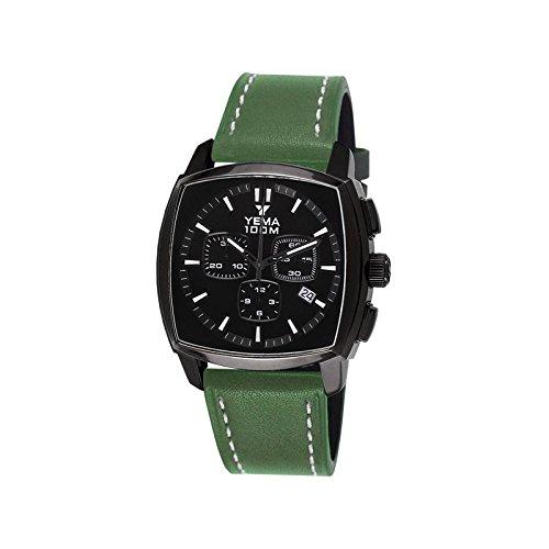 Reloj yema Landgraf hombre soleillé negro y contadores negros - ymhf1467 - Idea regalo Noel - en Promo: Amazon.es: Relojes