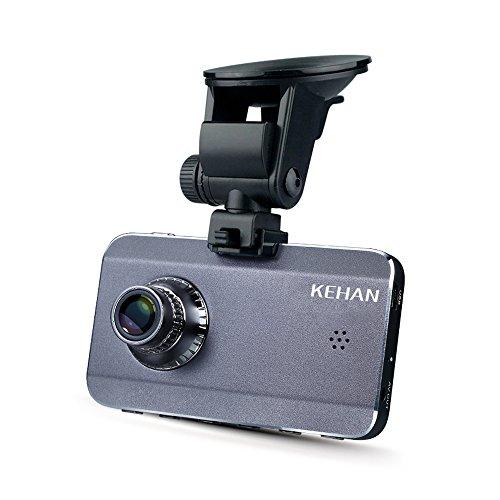 "UPC 710219003791, KEHAN KH903-50VP Super HD 25601080 Car DVR Dash Cam Dashboard Camcorder 170° Wide Viewing Angle 3.0"" Screen Ambarella A7 with GPS Logger G-Sensor HDR Night Vision Motion Detection 16GB Memory Card"