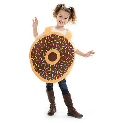 Kids Donut Halloween Costume (Deluxe Donut Children's Halloween Costume - Funny Food Kids Suit)