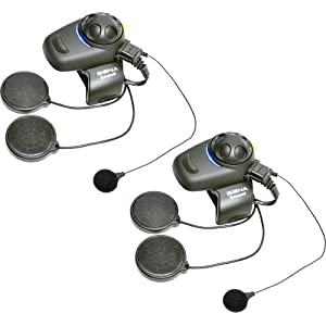 Sena SMH5D-FM-02 Motorcycle and Scooter Bluetooth Headset / Intercom with Built-in FM Tuner for Full-Face Helmets (Dual)