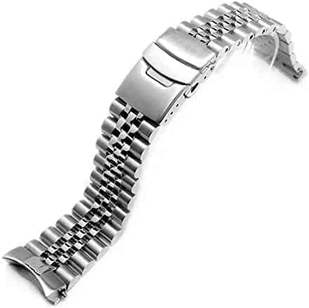 22MM 316L STAINLESS STEEL SUPER JUBILEE WATCH BAND for Seiko SKX007