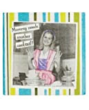 Aprons And Attitude Mommy Need Another Cocktail Napkins, Set Of 20, As Shown
