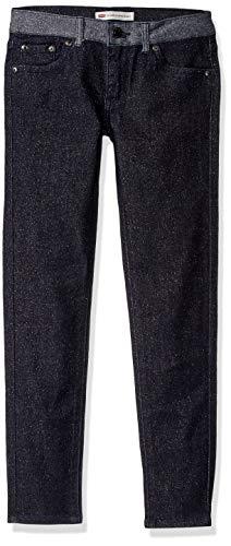 Levi's Girls' Big 710 Super Skinny Fit Jeans, Sparkling sea, - Skinny Zip Jeans Super
