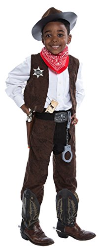 Deluxe Cowboy Costume Kit - Small (Childs Deluxe Cowboy Costumes)