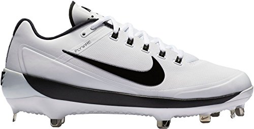 outlet get to buy Nike Men's Air Clipper 17 Metal Baseball Cleats White/Black supply sale release dates buy cheap real ECh1tTMbW