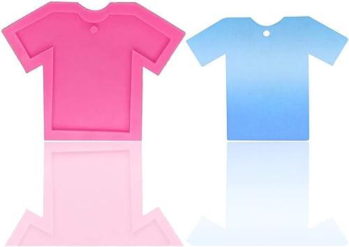 LIANLI DY0046 DIY Ropa de Silicona Molde DIY Chica Camisa for ...