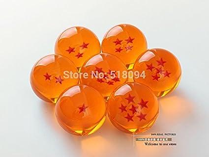 Dragon Ball Z 7 Stars Crystal Balls DragonBall Ball Complete Set 3,5cm