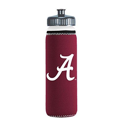 NCAA Alabama Crimson Tide Van Metro Squeezable LDPE Water Bottle, Maroon, 22-Ounce