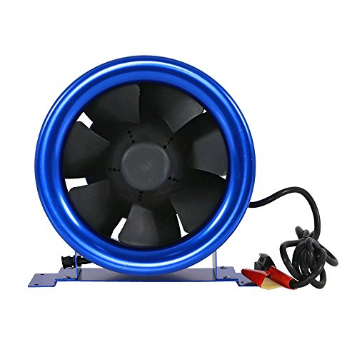 Hyper Fan Digital Mixed Flow Fan - 10 Inch | 1065 CFM | Energy Efficient Technology, Quiet Operation, Lightweight, Includes the Hyper Fan Speed Controller - ETL Listed