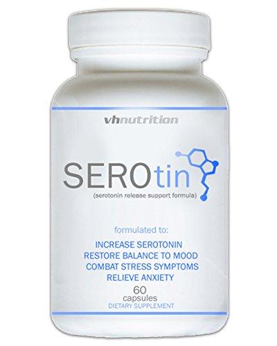 SEROTIN anxiété naturelle et Supplément Stress Relief pour stimuler la sérotonine