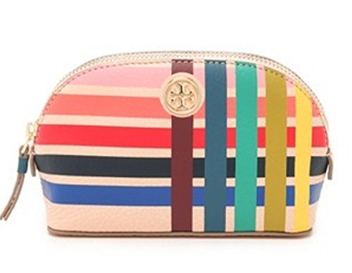 Tory Burch Multi-Color Small Makeup Cosmetics Bag, Style No. 34113 (Multi) by Tory Burch