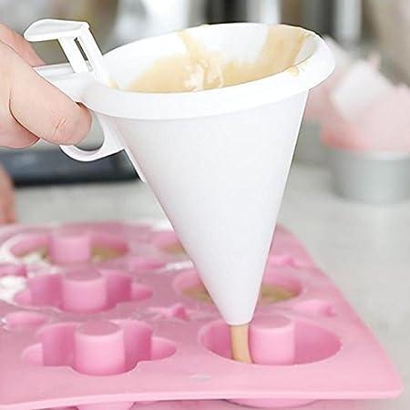 1 Stück Einstellbare Schokolade Trichter Für Backen Kuchen Dekorieren Tools